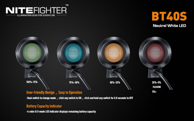 NiteFighter BT 40S