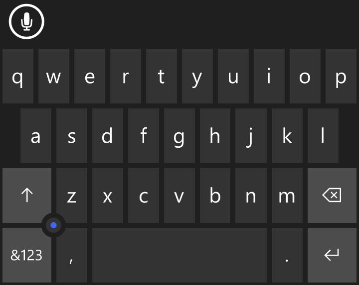 12 секретов клавиатуры Windows Phone